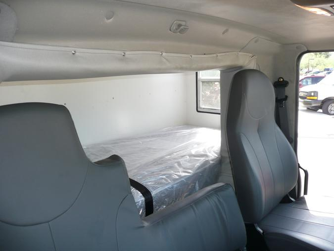 Passenger Side View Of Standard Sleeper Compartment Custom