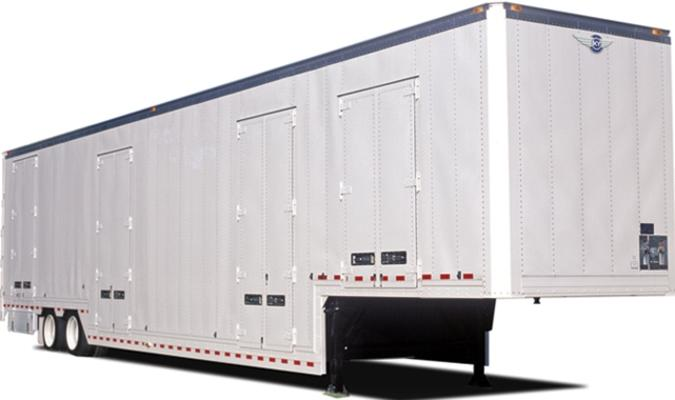 Movers Supply House - Kentucky Drop Frame trailer - Kentucky Trailers