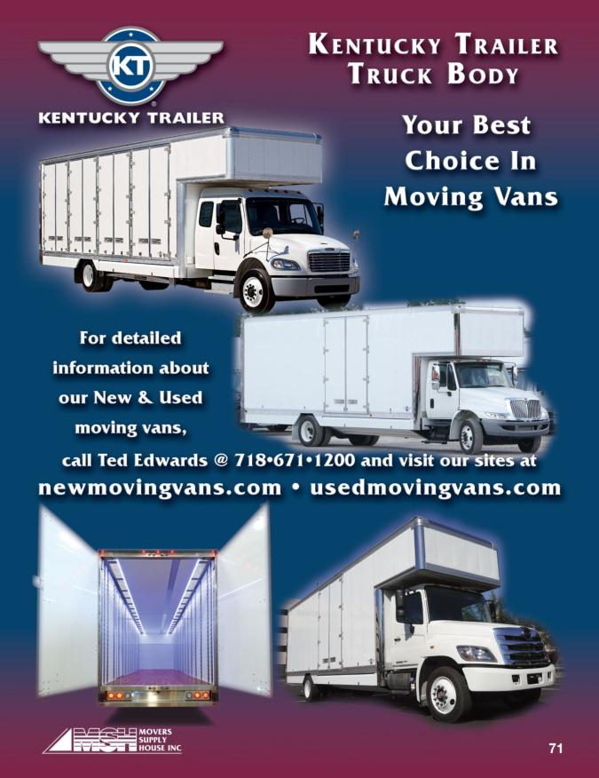 Haire Vans, Moving Vans, Pallet Vans, AMH, Masterclass Premium Moving vans, Moving Trucks, kentucky trailer truck body, kentucky moving van, kentucky truck, international, hino, Freightliner