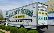 Kentucky Commercial Moving van